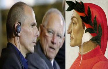 """Varoufakis, Schäuble y el """"Dante"""" de Botticelli"""