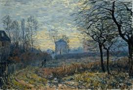 """Alrededores de Louveciennes"", Alfred Sisley, 1873"