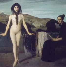 """""""La bailarina desnuda"""", Ángel Zárraga, (entre) 1907-1909"""