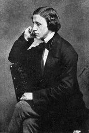 Lewis Carroll, fotografía tomada por él mismo