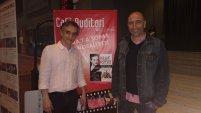 Con Ezequiel Teodoro (autor y editor de Avant Ediciones)
